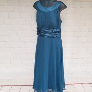 Connected Apparel Teal Prom Bridesmaid Dress NWT!!